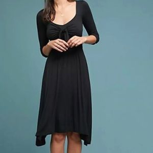 NWOT Anthropologie Maeve Beloved Tie Dress, Bl, M
